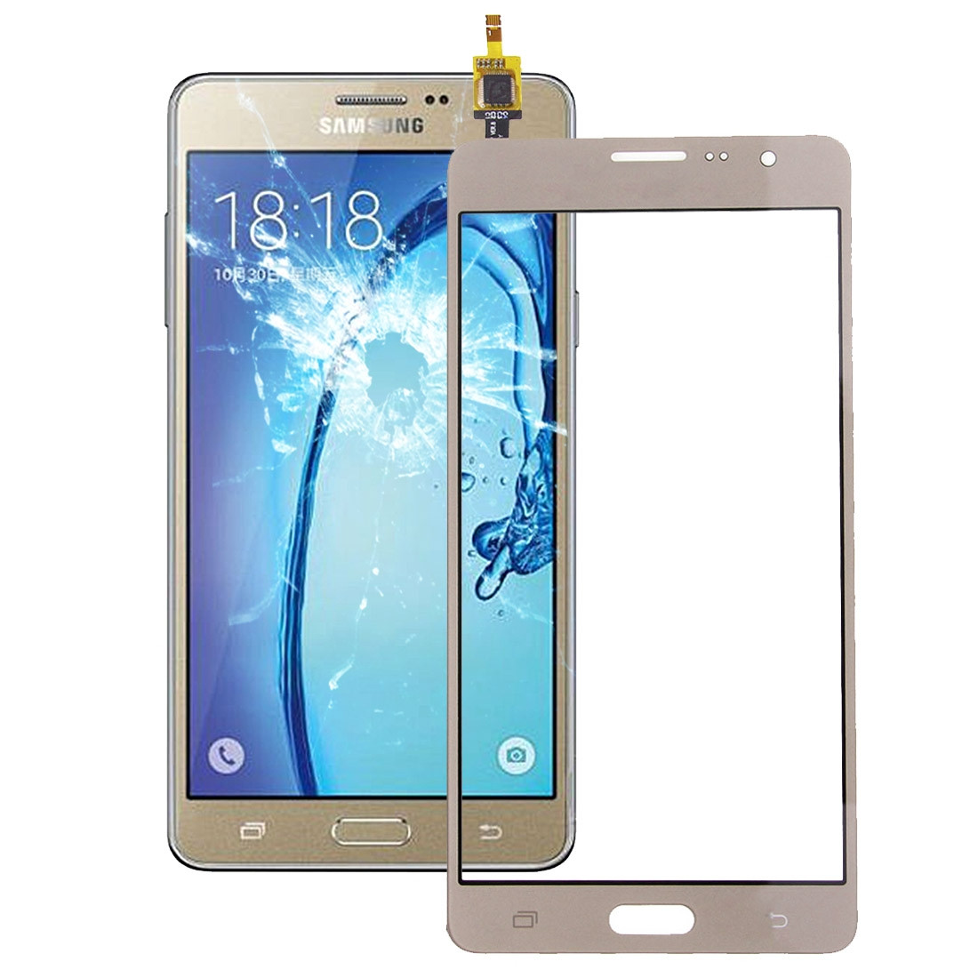 Ipartsachat Cran Tactile Pour Samsung Galaxy On7 G6000 Gold Si03jl1636 08