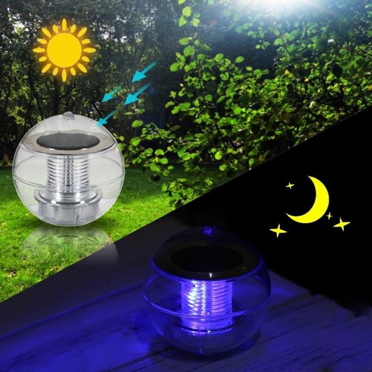 YWXLight RGB Énergie Solaire IP65 Éclairage Étanche Éclairage LED Lumière  Jardin Cour Gazon Lampe Couleur Changement Lampe Suspendue Lanterne