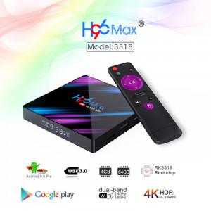 H96 MAX Smart TV BOX black_FR réglementations 2G + 16Go C2YET1504-20