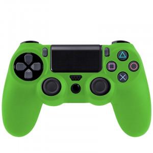 Étui flexible en silicone pour Sony PS4 Game Controller (vert) S0001G-20