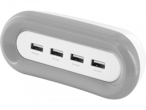 Novodio Fast4 Charger Chargeur iPhone 4 ports USB (2,4A) Ultra-Rapide ACSNVO0321-20