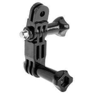 Bracelet pivotant à trois voies ST-15 pour GoPro Hero 4 / 3+ / 3/2/1 (Noir) SB00072-20