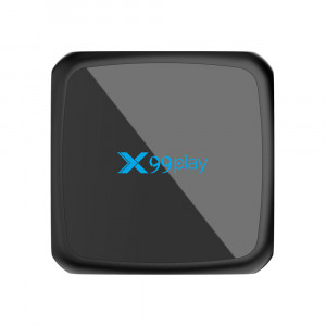X99 Play Smart TV Box Android 9.0 2G + 16Go IPTV Box Sans fil 4K USB Set Top Box 5G WiFi Netflix Youtube Google Play PK H96 MAX black_U.S. règlements C4809TQL32789-20