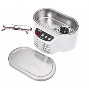 Unité de lavage à ultrasons numérique pour nettoyeur à ultrasons en acier inoxydable exquis 600ML pour lunettes de bijoux C3959MC9C13188-20