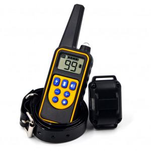 Collier de dressage de choc électrique pour chien de compagnie 1000m IP7 Profondeur Étanche Télécommande Chien Dispositif Anti Aboiement US Plug C1729-20