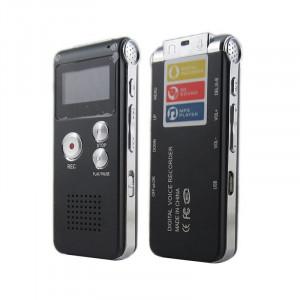 Enregistrement vocal Mini 8 Go Enregistreur audio numérique Dictaphone Lecteur MP3 noir C87642KN94713-20