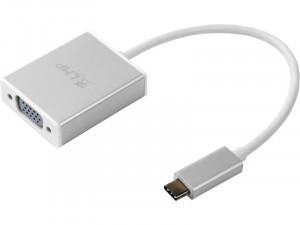 LMP Adaptateur USB-C vers VGA Argent ADPLMP0009-20