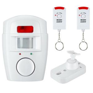 Télécommande Alarme Infrarouge Antivol Alarme Sans Fil Usage Domestique Blanc C0CGWC15708-20
