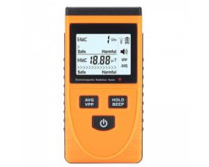 Detecteur de rayonnement electromagnetique / 5Hz-3500MHz / 1-1999V/m / Ecran LCD CE2667-20