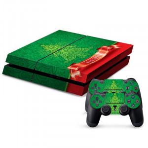 Autocollants décoratifs pour la console de jeux PS4 SA020A-20