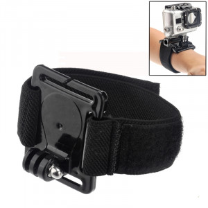 Bouchon de poignet pour casque de plongée pour GoPro Hero 4 / 3+ / 3/2/1 (Noir) SB00702-20