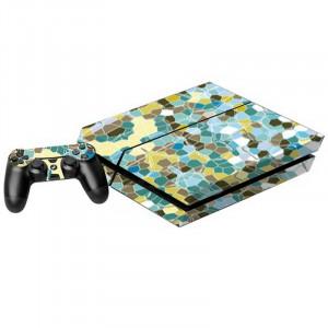Étiquettes de décalcomanies de motif pour console de jeux PS4 S0016K-20