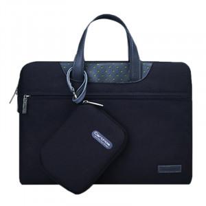 15,4 pouces Cartinoe Business Series Sac à bandoulière portatif portable Exquisite Zipper avec paquet d'alimentation indépendant pour MacBook, Lenovo et autres ordinateurs portables, Taille interne: 35,0x24,0x3,0 cm S1142B-20