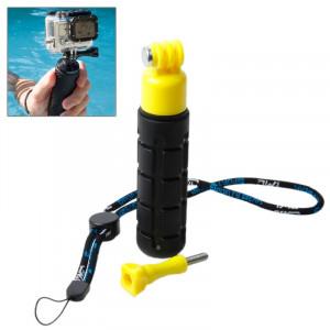 TMC Grenade Poignée légère pour GoPro Hero 4 / 3+ / 3/2/1, HR203 (Jaune) ST100Y2-20