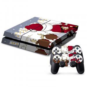 Autocollants décoratifs pour la console de jeux PS4 SA023X-20