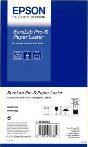 1x2 Epson SureLab Pro-S papier lustré 152 mm x 65 m 248 g BP 587918-20