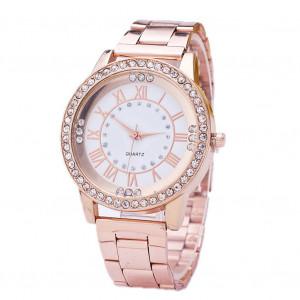Montre de loisir pour femme, bracelet de sport, mode, bracelet en diamant à la mode, or rose C620-20