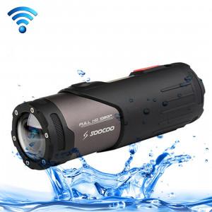 Caméra de sport SOOCOO S20WS HD 1080P WiFi, grand angle 170 degrés, 15m imperméable à l'eau SC00829-20