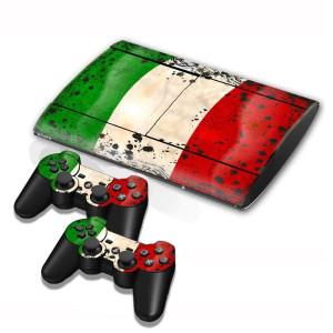 Autocollants pour autocollants en forme de drapeau au Koweït pour console de jeux PS3 SA002J-20