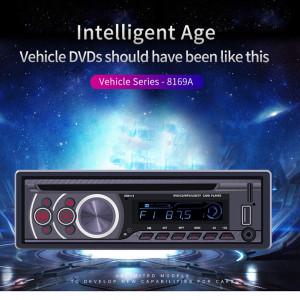 12V Universal Bluetooth U Disk Car Audio Stéréo Véhicule Radio Lecteur MP3 Lecteur CD/DVD/VCD noir C0BZFP16356-20