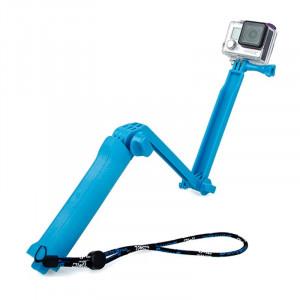 TMC 3-Way Handheld Monopod + Trépied + Bracelet à main Portable Magic Mount Selfie Stick pour GoPro HERO4 / 3+ / 3/2/1, SJ4000 ST134L5-20
