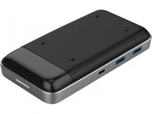 HyperDrive dock USB-C 8 ports et chargeur iPhone sans fil 7,5 W ADPHDS0018-20