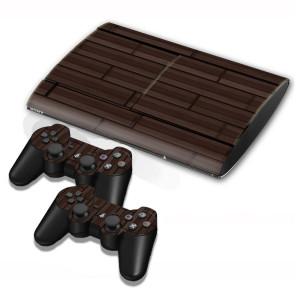 Autocollants pour autocollants en bois pour console de jeux PS3 SA001E-20