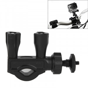 Guidon de sellette Pole Mount Bike Moto Pince à vélo pour GoPro Hero 4 / 3+ / 3/2/1 / Mini caméra / Mini DV SG27531-20