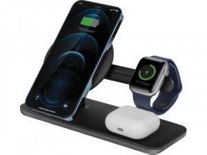 Energea MagDisc Trio Chargeur sans fil 3-en-1 iPhone 12, AirPods, Apple Watch AMPENA0001-20