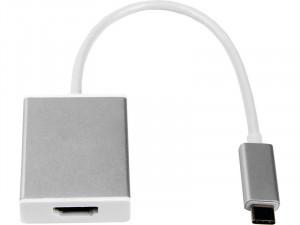 LMP Adaptateur USB-C vers HDMI 2.0 Argent ADPLMP0007-20