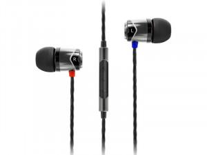 SoundMagic E10C Gun Black Ecouteurs intra-auriculaires avec micro MICSDM0038-20