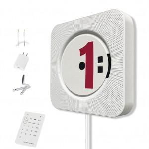 Lecteur de musique Bluetooth portable avec lecteur CD à fixation murale avec télécommande CL0514944-20