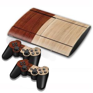 Autocollants pour autocollants en bois pour console de jeux PS3 SA001B-20