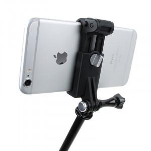 TMC HR335 Ensemble de fixation pour téléphone portable extérieur, adapté pour téléphones portables de 51 à 84 mm de largeur, appareil photo GoPro ST04908-20