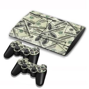 Autocollants pour autocollants série série pour console de jeux PS3 SA004Q-20