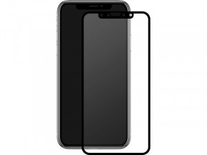 Novodio Total Cover 9H Glass Noir Vitre protection écran intégrale iPhone X/XS IPXNVO0002-20