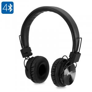 Écouteurs Bluetooth NIA X3 Pilotes HD 40mm, radio FM, emplacement pour carte SD, casque sans fil C9757-20