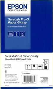 1x2 Epson SureLab Pro-S Paper BP brillant 152 mm x 65 m 254 g 483247-20