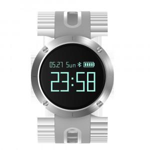 Bracelet intelligent DM58 de 0,95 pouce avec moniteur de fréquence cardiaque pris en charge gris CB7651460-20