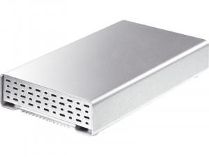 "Boîtier disque dur 2,5"" Storeva AluICE mini Turbo SATA vers USB 3.0/Firewire 800 BOISRV0046-20"