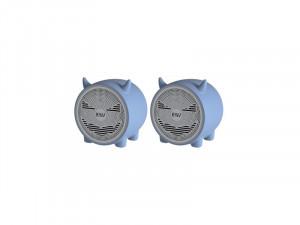 EWA A101C Bleu Pack de 2 mini enceintes Bluetooth TWS HAUGEN0006D-20