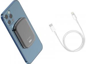 Novodio PureWatt Stick'n Go Batterie externe magnétique & câble Lightning BATNVO0155D-20