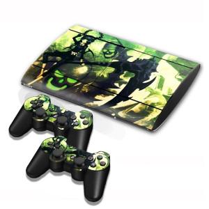 Autocollants pour autocollants série série pour console de jeux PS3 SA004B-20
