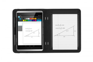 HP Paper Folio Case flip cover for tablet polyurethane, microfibre graphite for Pro Slate 8 XP2195718N239-20
