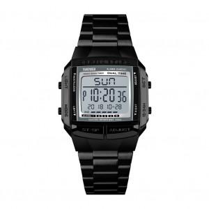 Montre de sport pour hommes Montres de luxe imperméables militaires LED Digital Wristwatch Black C25391585-20