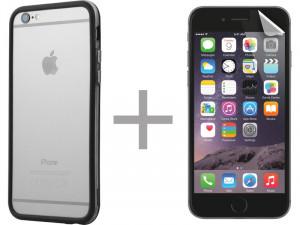 Kit Novodio Slim Bump + ScreenGuard Evo Bumper + films écran pour iPhone 6/6s IP6NVO0025D-20