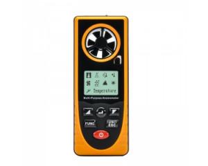 Portable polyvalent anémomètre Vitesse du vent, température, humidité, Wind Chill, Point de rosée + Plus CP6078-20