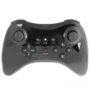 Contrôleur Pro haute performance pour Nintendo Wii U Console (Noir) SC28BL-20