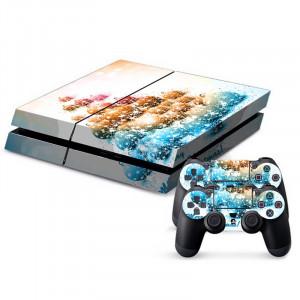 Autocollants décoratifs pour la console de jeux PS4 SA021C-20
