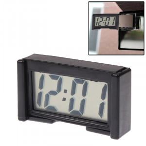 LCD Horloge numérique de voiture électronique Accessoire intérieur de voiture Date Affichage de l'heure du calendrier SL0017-20